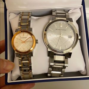 Burberry couple's watch